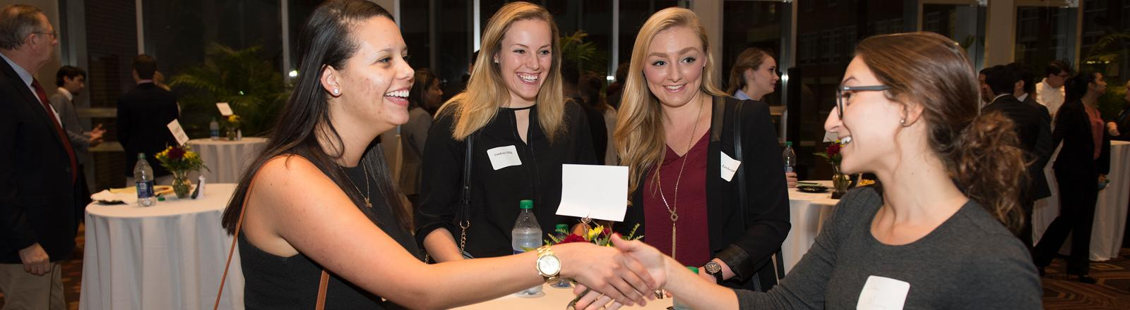 Networking Night - St. Charles Room - College of Business - Loyola University New Orleans