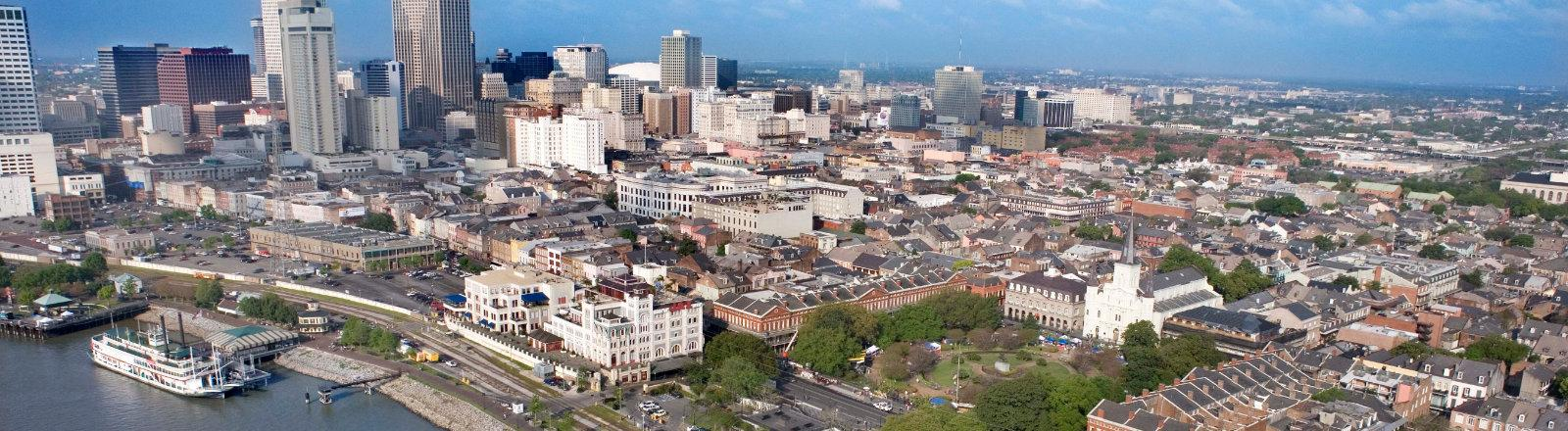 New Orleans Aerial Shot
